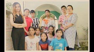 The Urusha's show, International Ambassador of SCM visiting orphan home  #TrendingToday