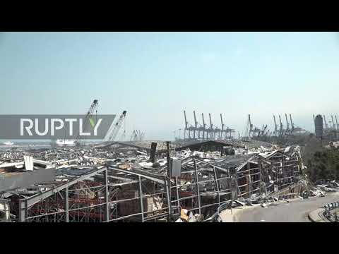 Lebanon: Beirut lies in ruins as death toll of port explosions rises to 135