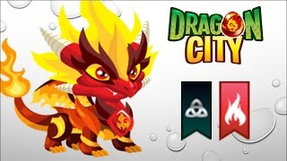 Dragon City - Getting Pure Flame Dragon 100% (No Hack)