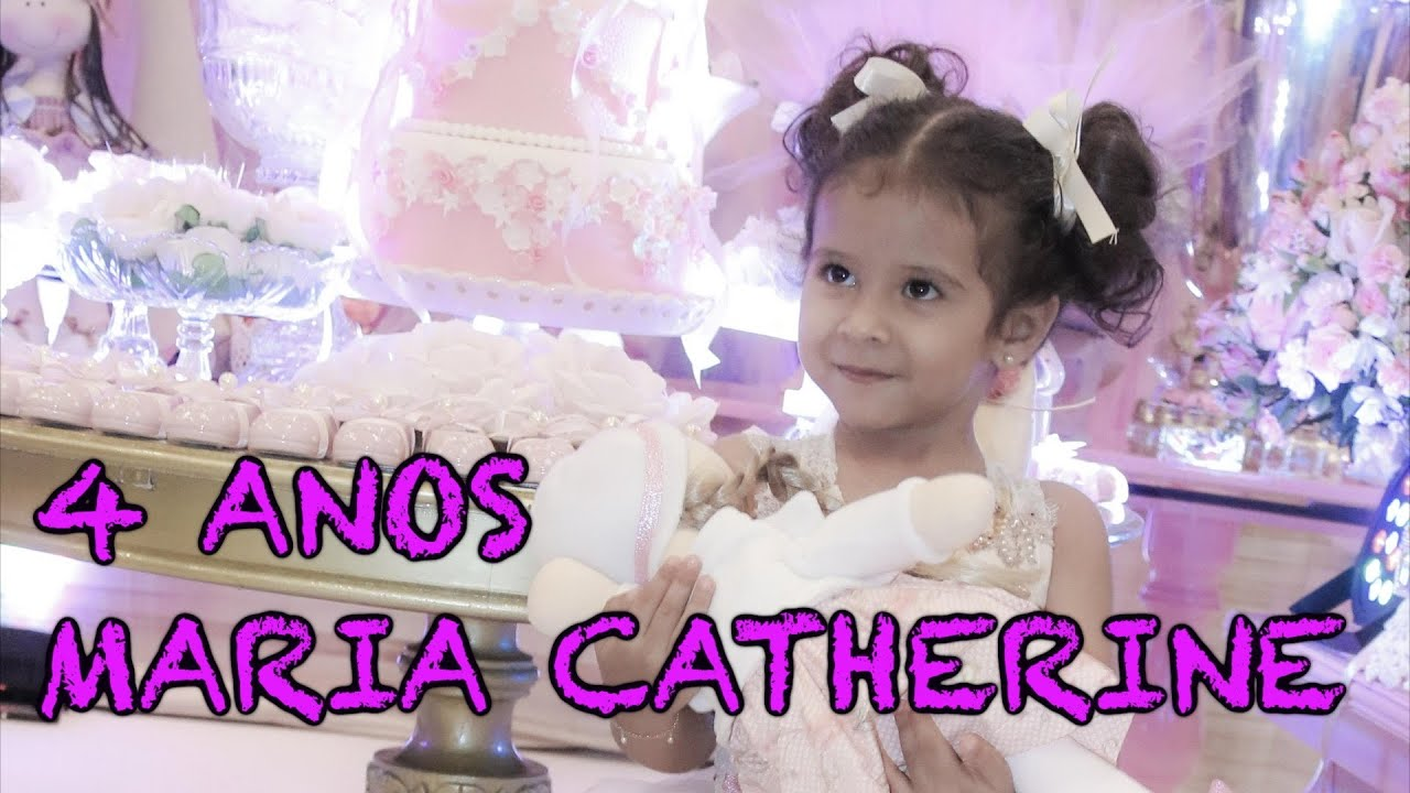 9552d9d51b Aniversário de 4 anos da Maria Catherine. Aline Barros