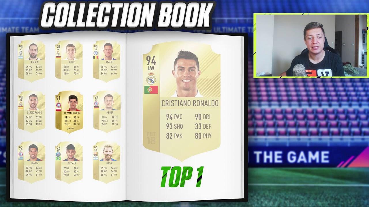 COLLECTION BOOK FIFA 18!!!!