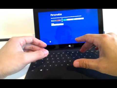 แกะกล่องรีวิว Microsoft Surface RT