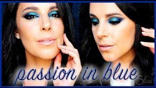 Passion in Blue makeup tutorial | Silvia Quiros Makeup