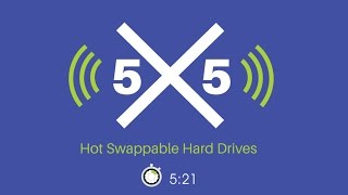 What are Hot Swappable Hard Drives? 5x5 with Paul