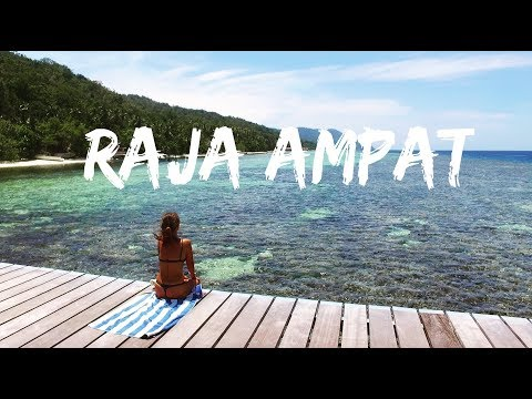 RAJA AMPAT the PARADISE ISLAND  - Papua, Indonesia | Drone | Diving | (Travel The World)