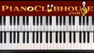 "♫ How to play ""LEAD ME TO THE CROSS"" by Brook Fraser (piano tutorial lesson)"