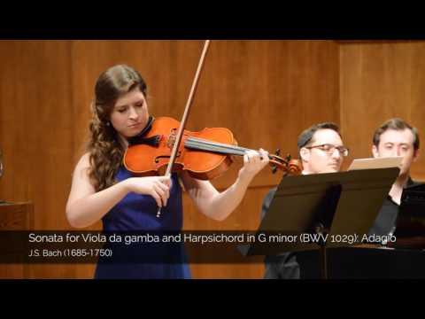 J.S. Bach: Sonata No. 3 in G minor for Viola da gamba and Harpsichord - BWV 1029