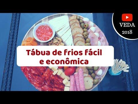 COMO MONTAR UMA TABUA DE FRIOS FACIL E GASTANDO POUCO?