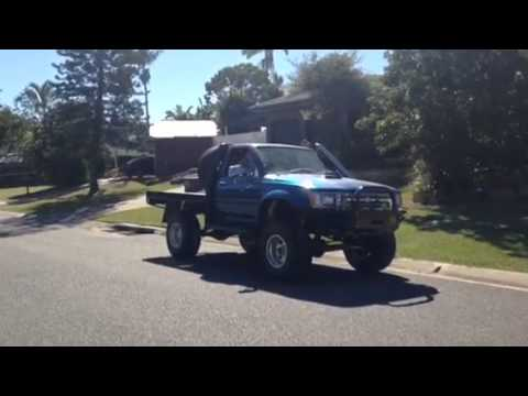Ls1 Hilux on the road