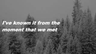 to make you feel my love || mick mcauley & winifred horan (lyric video)