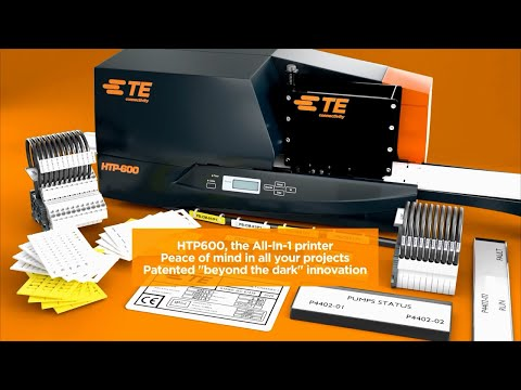 TEs HTP600: The All-in-One Thermal Transfer Printer & Marker