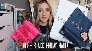 Huge Black Friday Haul 2014! | ZaraForever Thumbnail