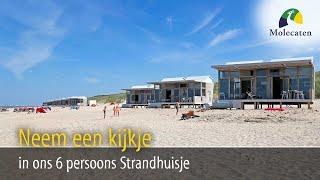 Binnenkijken in het 6-pers. Strandhuisje | Molecaten Park Hoogduin