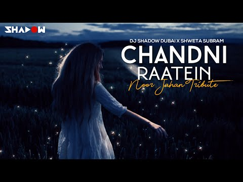 Chandni Raatein | DJ Shadow Dubai X Shweta Subram | Noor Jahan Tribute