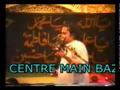 Irfan Haider Abidi personal attack on Molana Jhangvi