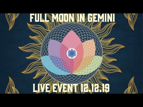 Full Moon In Gemini LIVE Event From The High Vibe Studios! SDM + MORE!