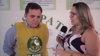 Arelone Andrade ressalta a importância da SIPAT para o desenvolvimento das atividades do consórcio