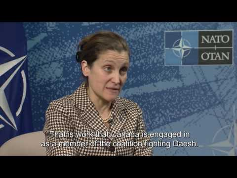 Minister Freeland discusses the importance of NATO