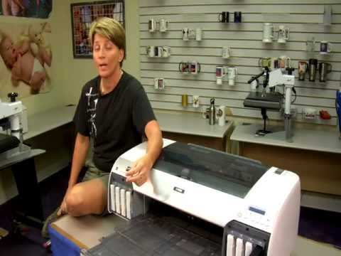 Super Sonic Cleaning on Epson 4800 Series Printers -