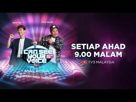 Live I Can See Your Voice Malaysia Musim 2 Minggu 3