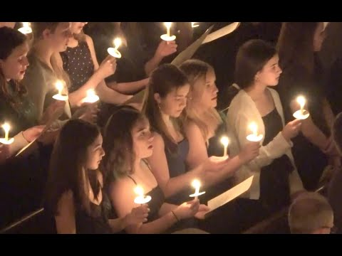 Christmas Candlelight Service of Lessons & Carols at The Lawrenceville School, Dec 18 2019