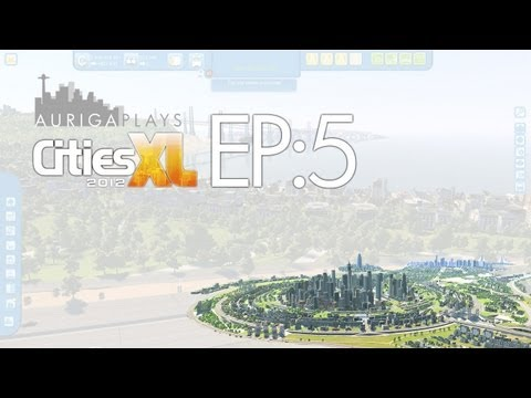 let's play cities XL 2012 : EP 5 : floating car causes confusion