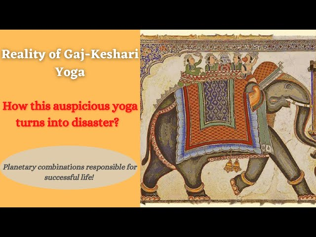 Reality of Gaj-Keshari Yoga | Astro sutras of decent life | Aaskplanets | Astrology