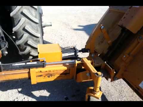 Woods Hs106 Rotary Cutter In Operation Youtube
