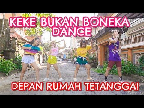 Keke Bukan Boneka Dance & Tiktok Version!   Step By Step Id