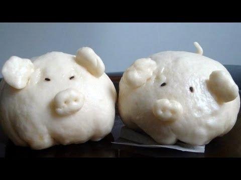 Bánh BaoSteamed Pork BunsYouTube