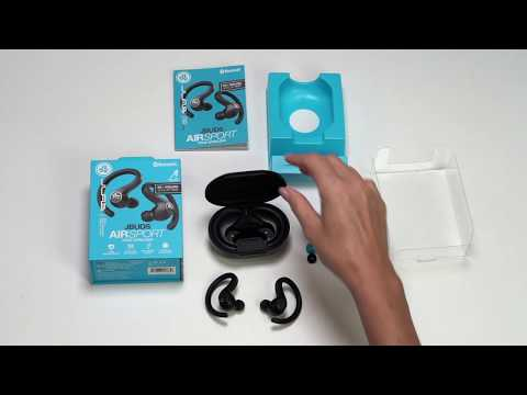 How To Guide For JBuds Air Sport True Wireless Earbuds By JLab Audio