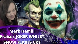 Joker Movie - Mark Hamill Approves & Snowflakes Cry