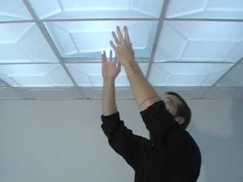Lighting panels made easy youtube lighting panels made easy ceilume ceiling tiles mozeypictures Choice Image