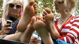 Tasty sweet feet