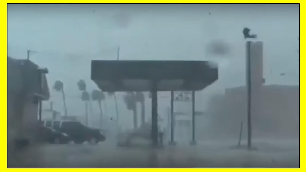NEW LIVE FOOTAGE: Hurricane Dorian Destroys Bahamas | September 2019