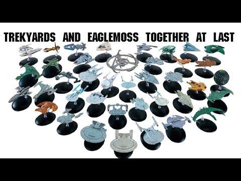 Eaglemoss Star Trek Haul - A Captains Log (Captain Foley)