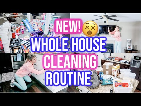 NEW! EXTREME WHOLE HOUSE CLEAN WITH ME 2020 | ALL DAY SPEED CLEANING MOTIVATION | CLEANING ROUTINE