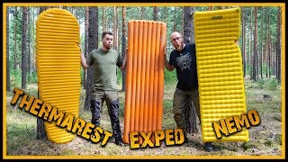Die beste Isomatte - Thermarest vs. Exped vs. Nemo - Ultralight - Outdoor Bushcraft Camping