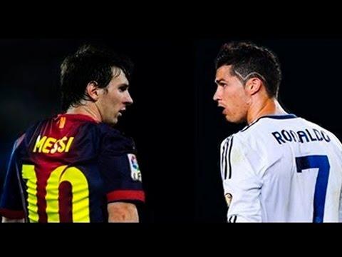 Messi vs C.Ronaldo - Jugadas y Goles 2014 | HD