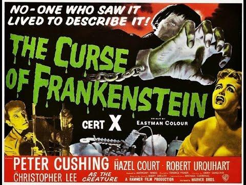 Hammer Horror Film Reviews - The Curse of Frankenstein (1957)