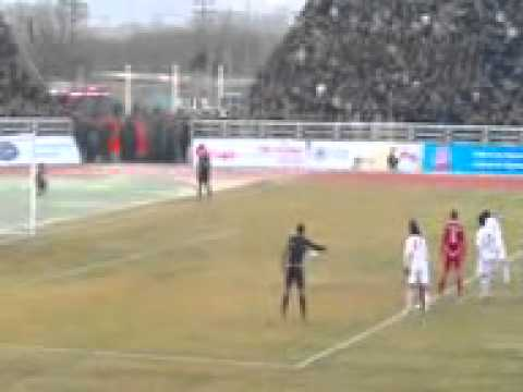 Пеналти Таджикистан Корея