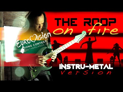 "Eurovision 2020 - Lithuania - THE ROOP ""On Fire"" - Metal Guitar Cover"