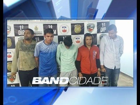 Quadrilha é presa suspeita de assalto a parada de ônibus na capital