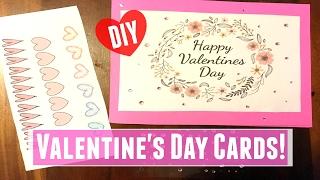 Easy diy valentine's day cards tutorial   fotojet review    ♡ tamara ten & natalie lewis