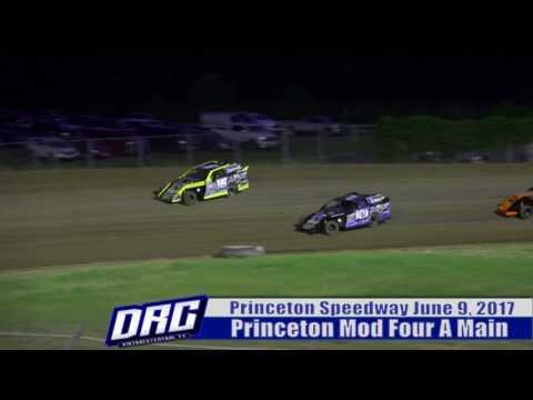 Princeton Speedway 6/9/17 Mod Four Finish