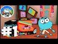 Gumball Racing (Cartoon Network) - Gameplay Walkthrough part 1 - Gumball (ios, android)