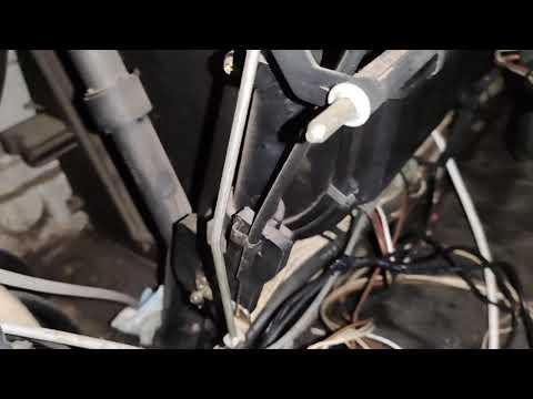 Кран печки MAN L2000. Почему в машине всегда жарко