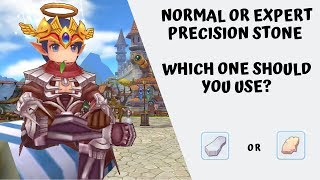 Normal and Expert Precision Stone: Which one should you use?