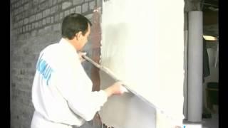 Применение штукатурной смеси КНАУФ Ротбанд(КНАУФ Ротбанд - универсальная гипсовая штукатурная смесь для стен и потолков, для помещений с обычным уровн..., 2012-09-06T13:26:27.000Z)