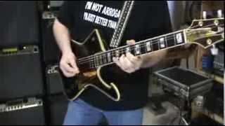 1995 ibanez paul stanley ps10 ltd guitar review demo rant by scott grove